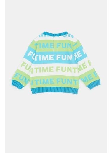 BG Baby Erkek Bebek Desenli S-Shirt 20Fw1Bg1433 Renkli